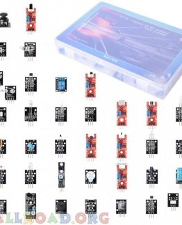 37 in 1 Sensor Module Kit for Arduino And Raspberry Pi