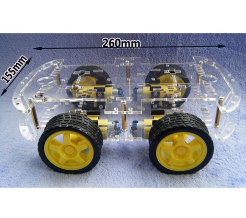 4 Wheel Robot   Modern Electronics