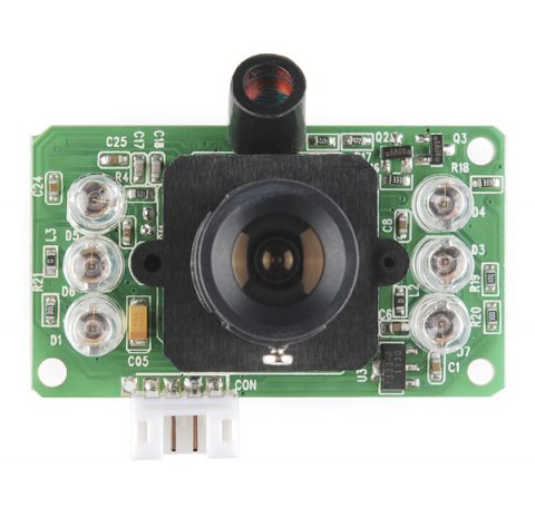 arduino infrared jpeg color camera module