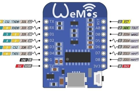 NodeMCU Lua WeMos D1 Mini WIFI Development Board