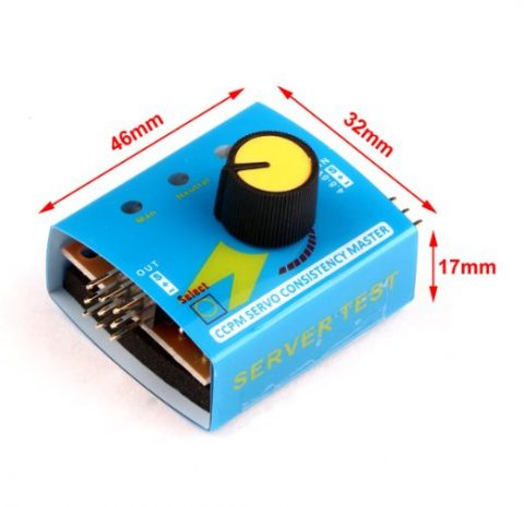 Steering Gear Tester CCPM 3-Mode ESC Servo Motor for RC Helicopters