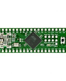 "The Teensy is a breadboard-friendly development board with loads of features in a, well, teensy package. The Teensy++ breaks out all of the IO available on the AT90USB1286 to breadboard-friendly 0.1"" spaced headers so you can hook up a load of peripherals. The Teensy++ comes pre-flashed with a bootloader so you can program it using the on-board USB connection: No external programmer needed! You can program the Teensy in your favorite IDE using C or you can install the Teensyduino add-on for the Arduino IDE and write Arduino sketches for Teensy! Note: This does not come with a USB cable, please check below for an appropriate one. Dimensions: 2"" x 0.7"" (50.8 x 17.8 mm) Features: 8-Bit AVR Processor (AT90USB1286) 128K Flash Memory, 8K RAM, 4K EEPROM USB Can Emulate Any Type of Device Single Pushbutton Programming Arduino Compatible 8 Analog Inputs 46 Digital I/O Pins 9 PWM outputs SPI and I2C Documents: Schematic Datasheet (AT90USB1286) Teensy Quickstart Teensyduino Software Pin Assignment Chart Product Video"