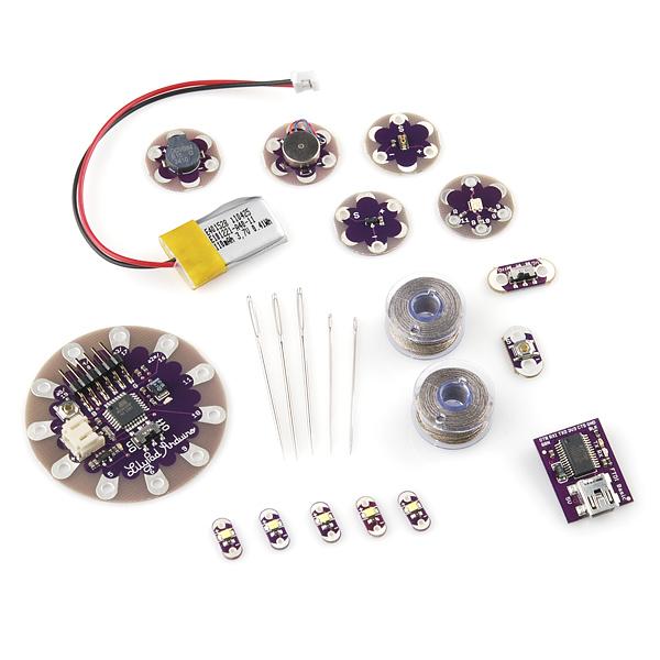 Starter kit lilypad modern electronics
