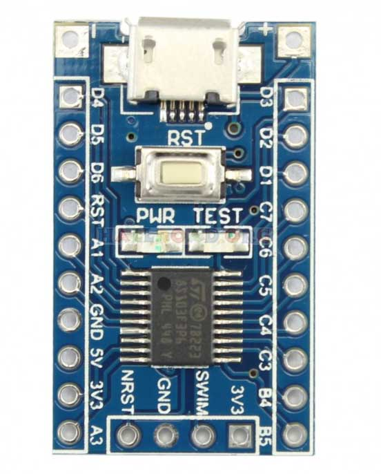 STM32F429 + TOUCH LCD | Modern Electronics