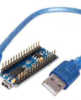 Arduino Nano v3.0 With USB Cable USB TO SERIAL CHIP IS FT232