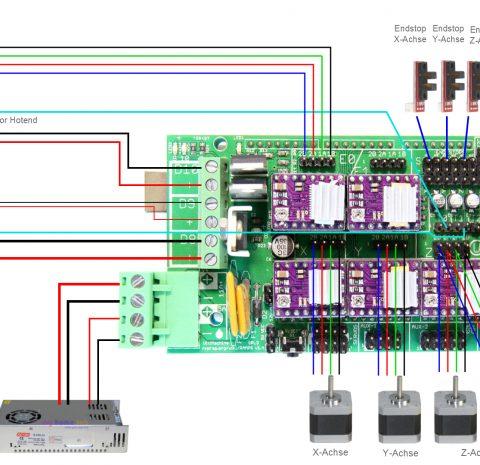 RAMPS 1.4 shield 3D Printer Kit
