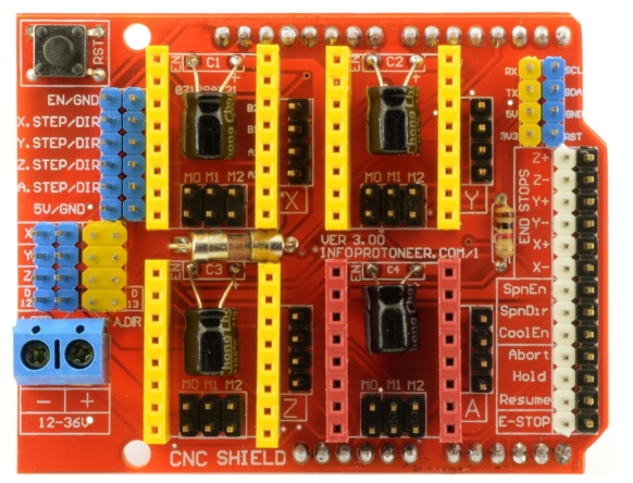 4 Axis Arduino Cnc Shield