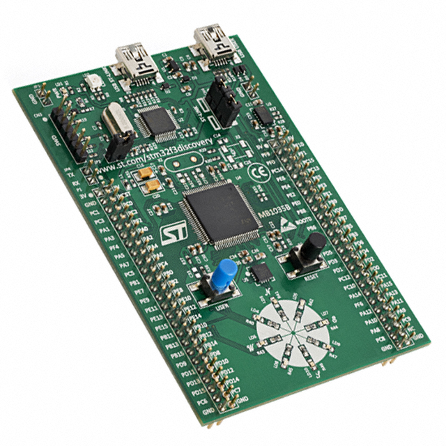 STM32 F3 DISCOVERY | Modern Electronics