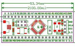 STM32F103C8T6 ARM STM32 Cortex-M3 Minimum System Development Board In Pakistan