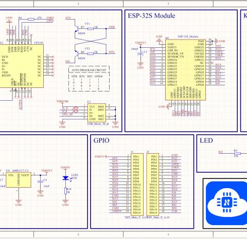 NodeMCU-32S ESP32S NodeMCU32S ESP32 WiFi Bluetooth Development Board Dual-Core Lua Module IOT