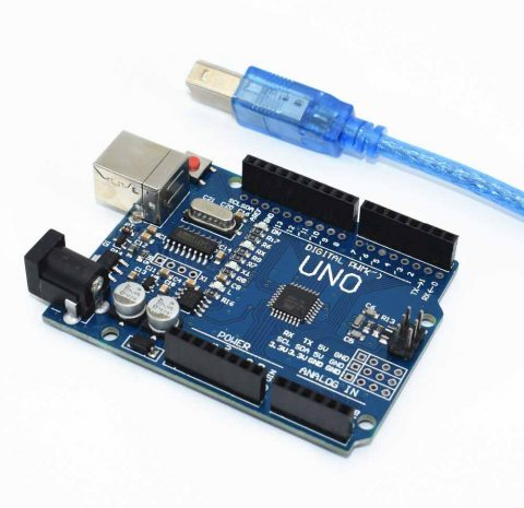 Arduino UNO R3 SMD WITHOUT USB CABLE